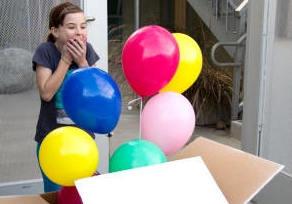 изненада с балони