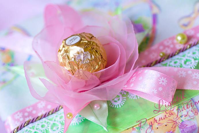 подарък изненада с бонбони