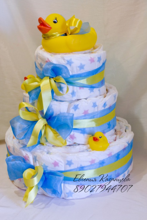 торта от памперси