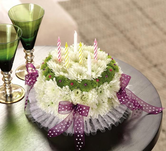 торта от цветя
