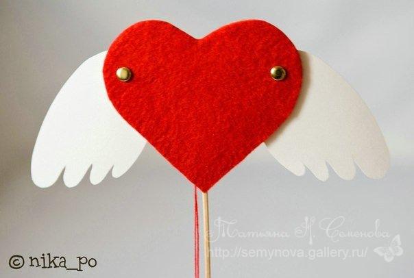 валентинка с криле