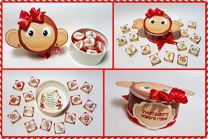 бонбони 2016 годината на маймуната