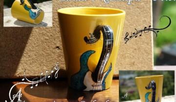 чаша с китара