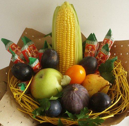 подарък храна на гости
